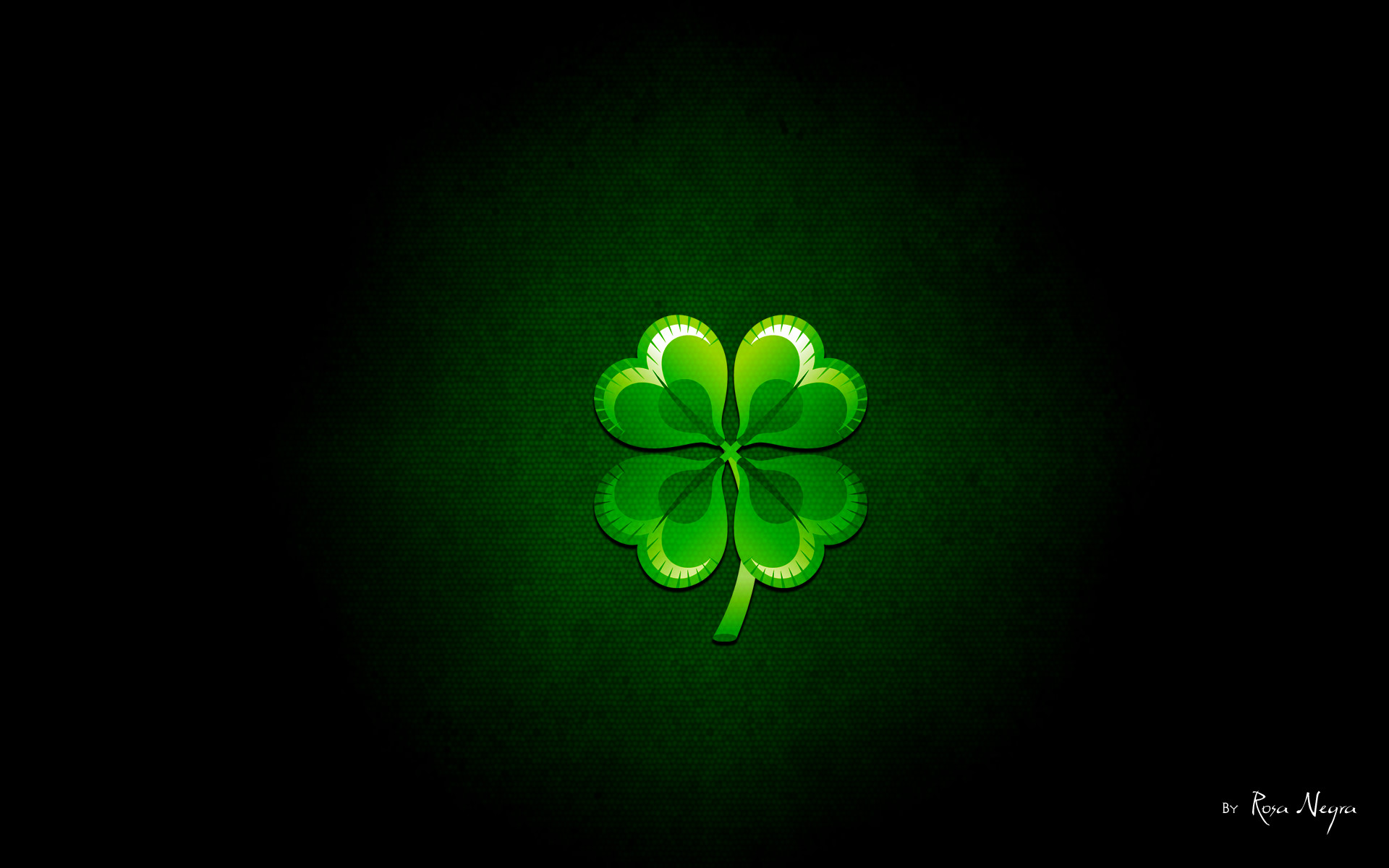 St. Patrick's Day green background