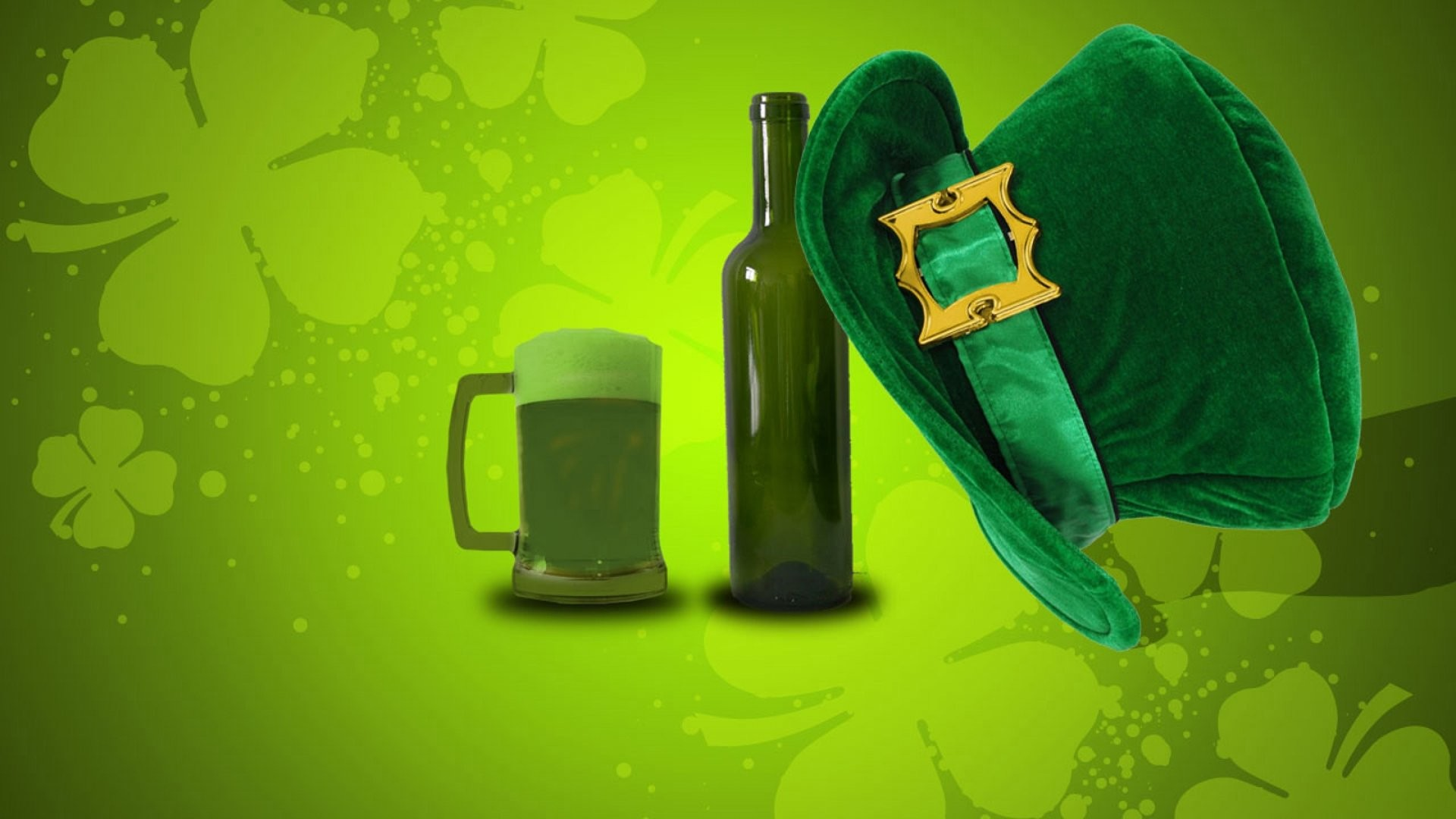 Holiday – St. Patrick's Day Beer Hat Wallpaper