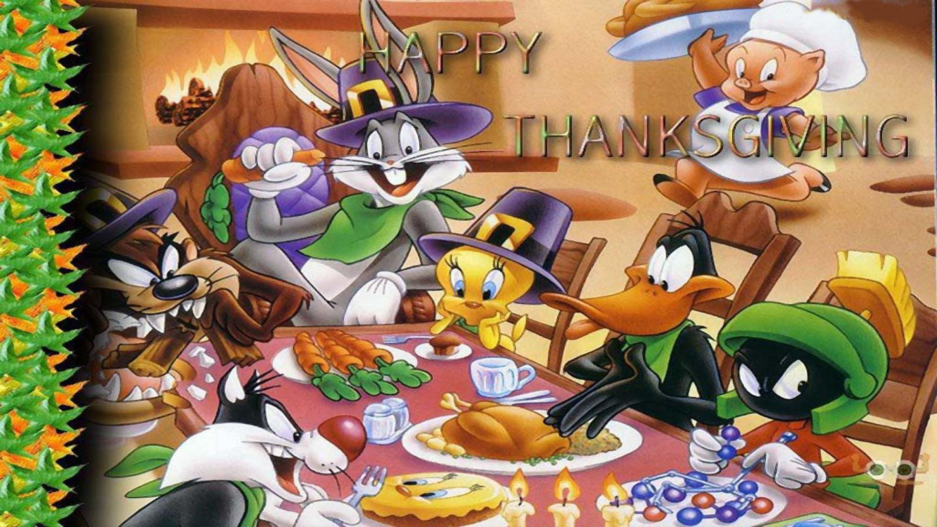 Thanksgiving Wallpapers Cartoon.