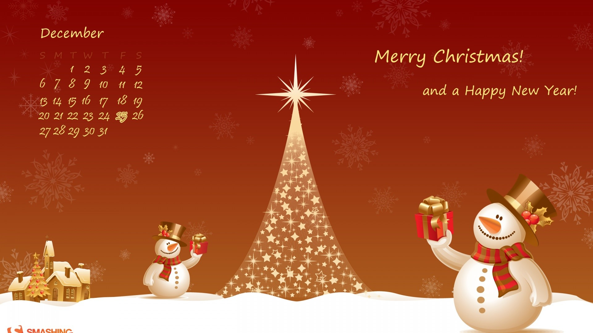 Christmas Snowman. How to set wallpaper on your desktop? Click  the download link from above and set the wallpaper on the desktop from your  OS.