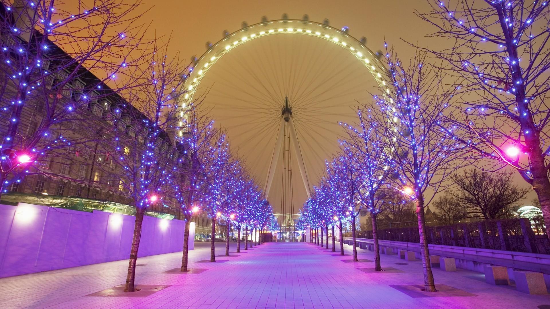 Desktop HD Christmas Lights Pictures.