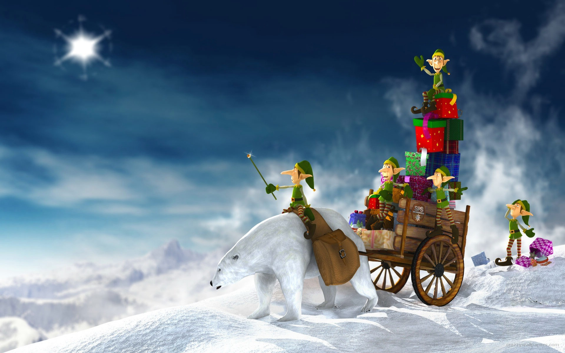 variety of christmas wallpapers to garnish you with christmas .