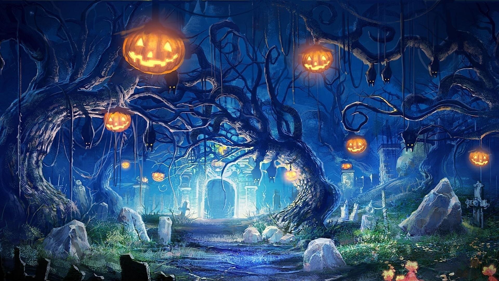 · Preview wallpaper halloween …