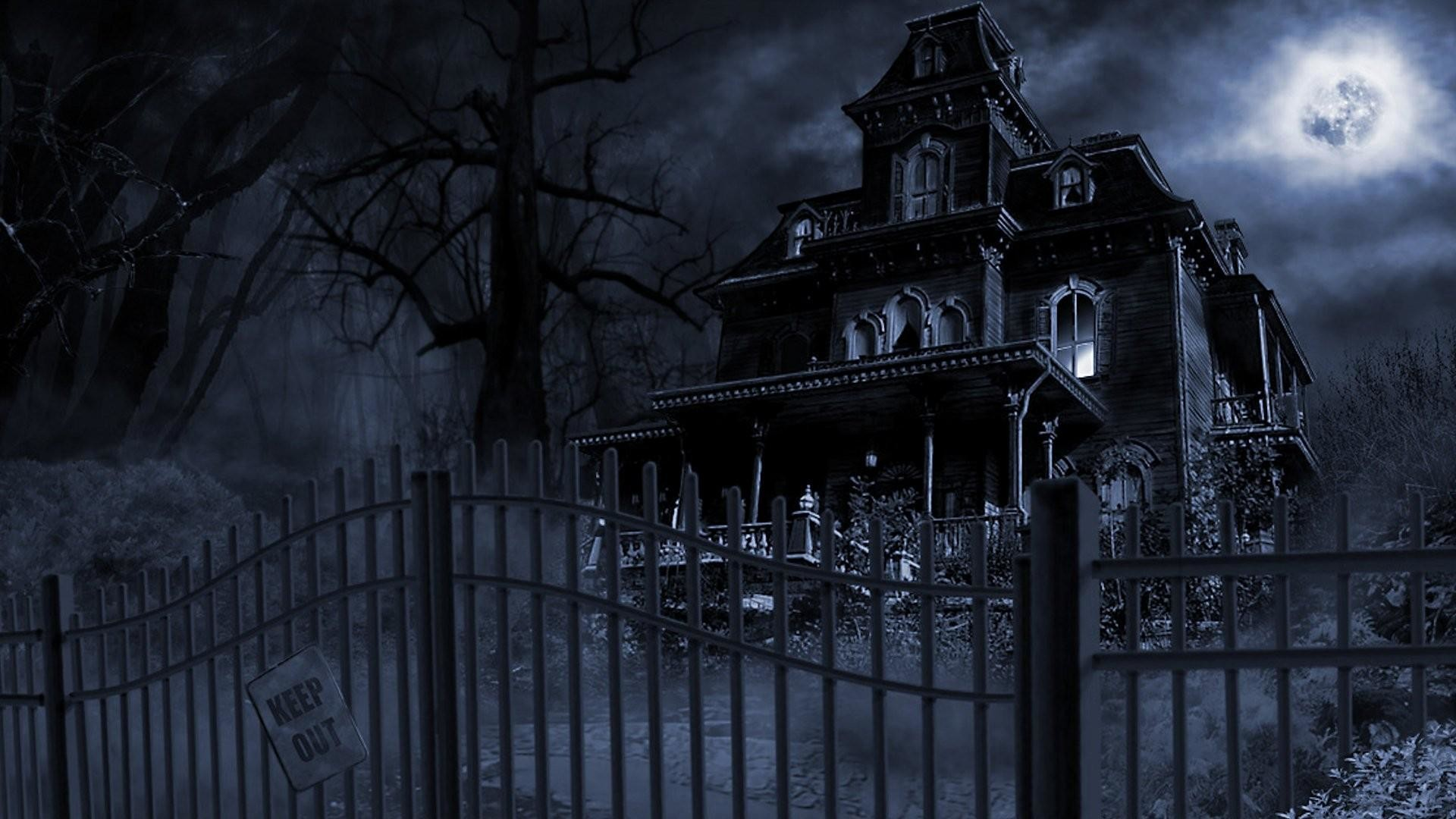 Halloween-Haunted-House-Wallpapers