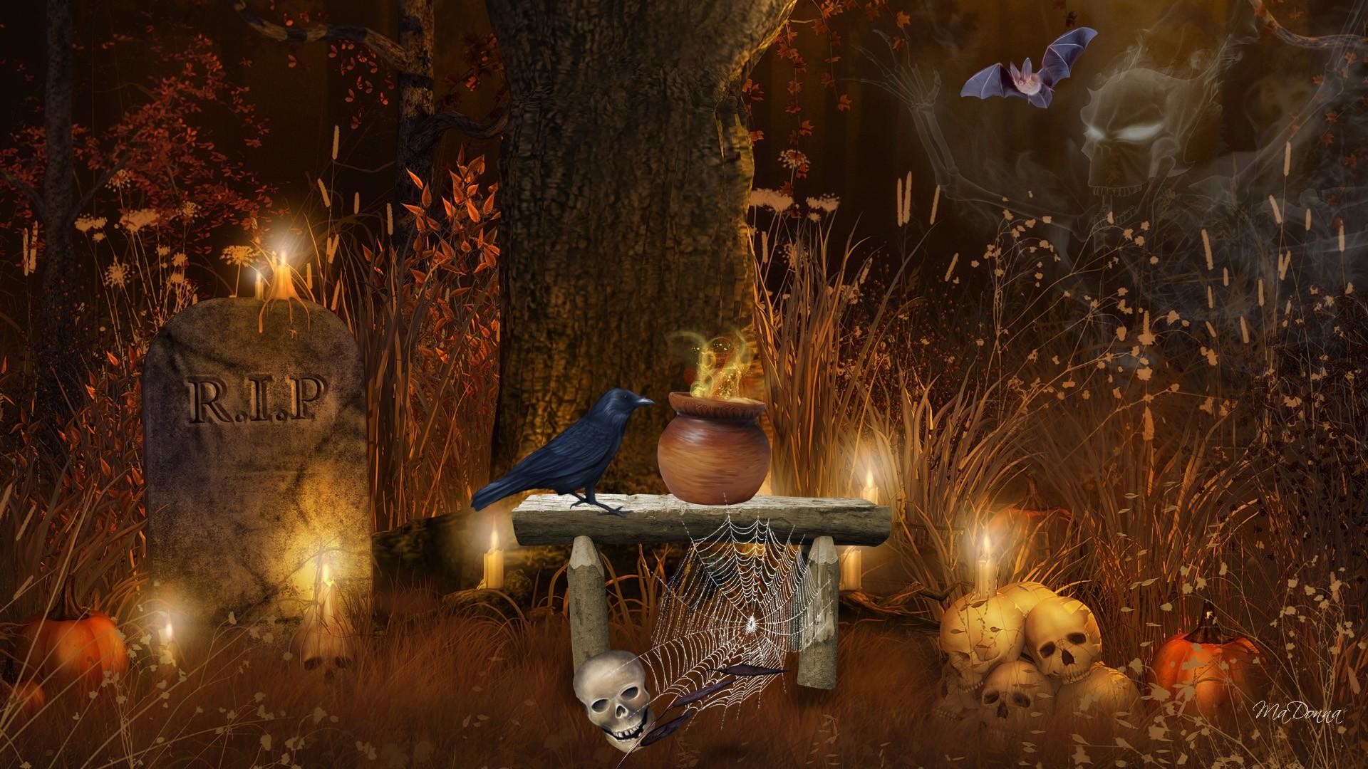 Halloween Wallpaper/Background