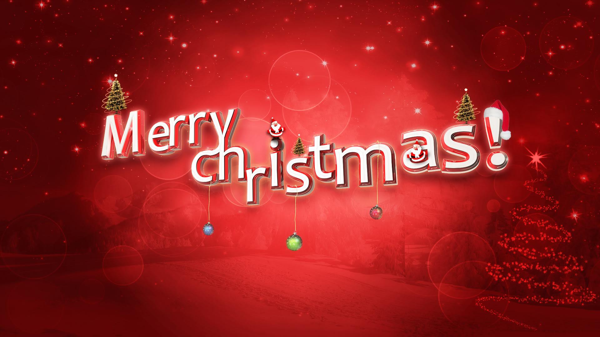 Desktop Merry Christmas HD Wallpapers Free Download.