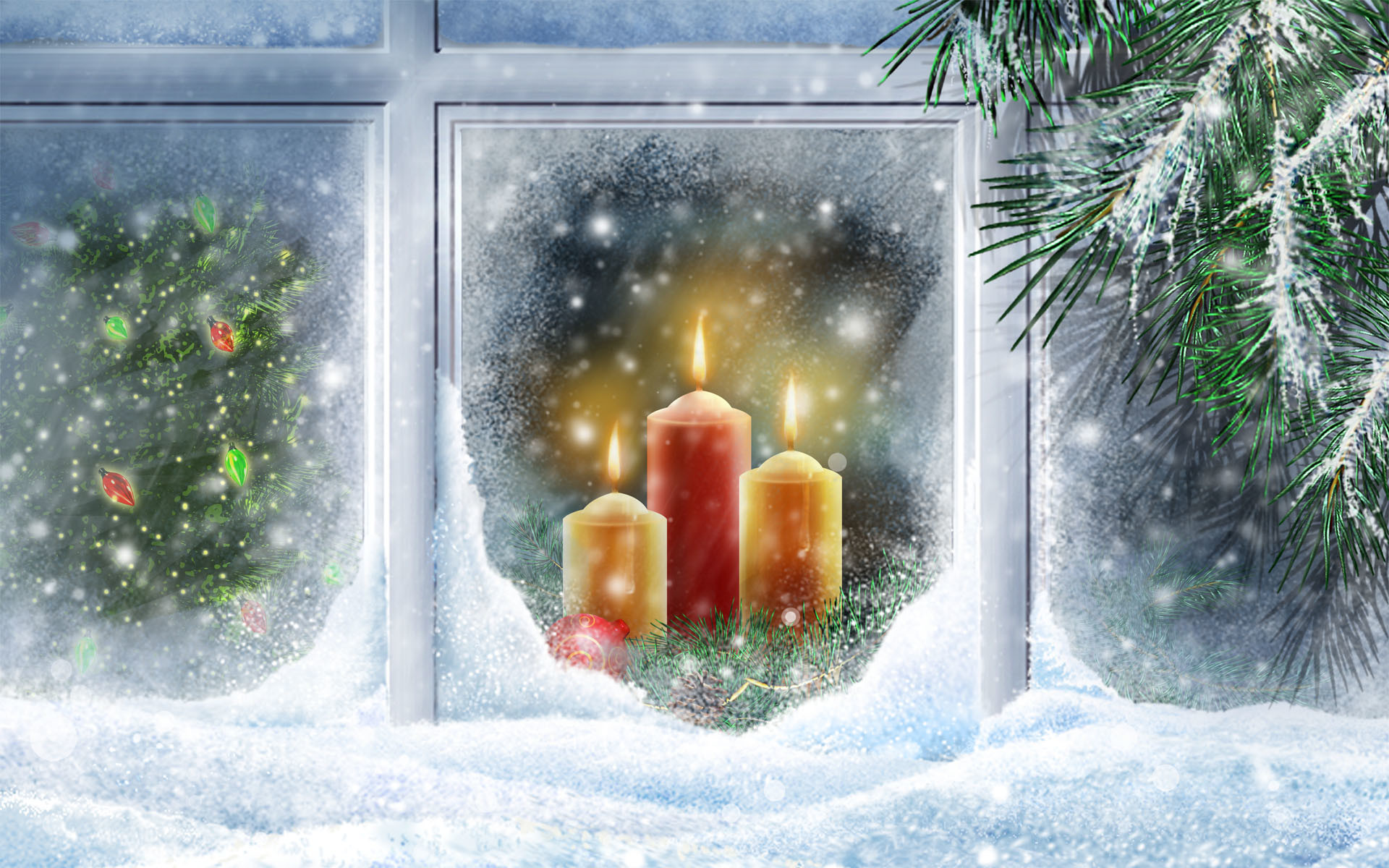 Christmas Wallpapers, Xmas HD Desktop Backgrounds, Widescreen .