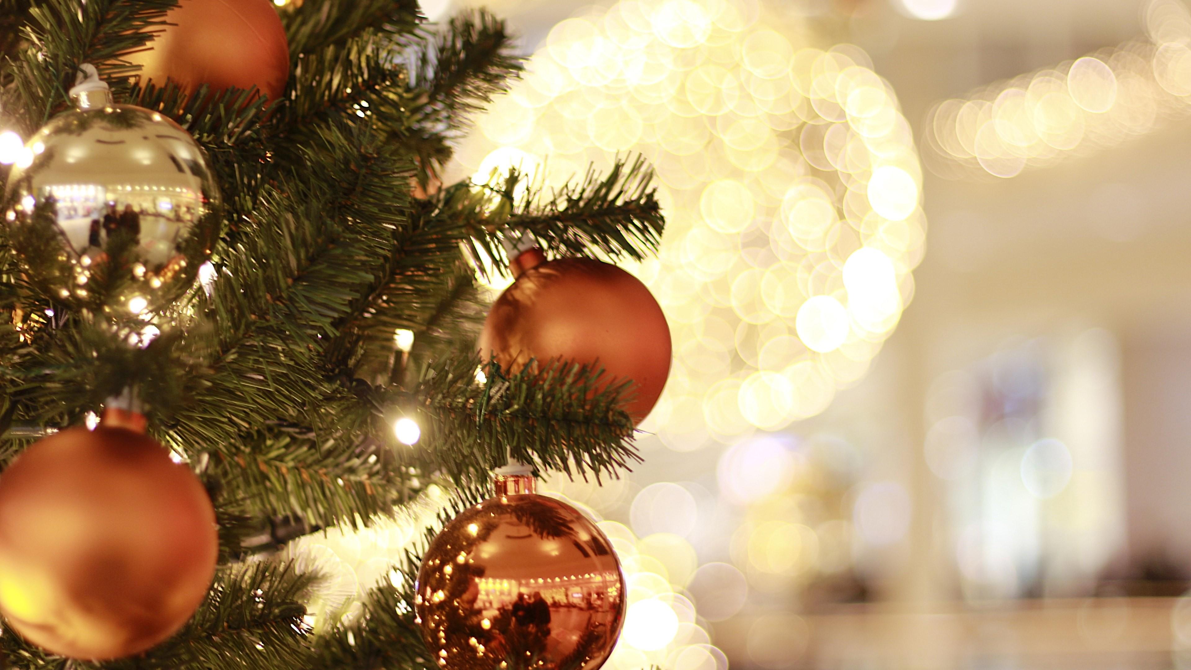 Wallpaper: Christmas: Tree, Decorations, Balls
