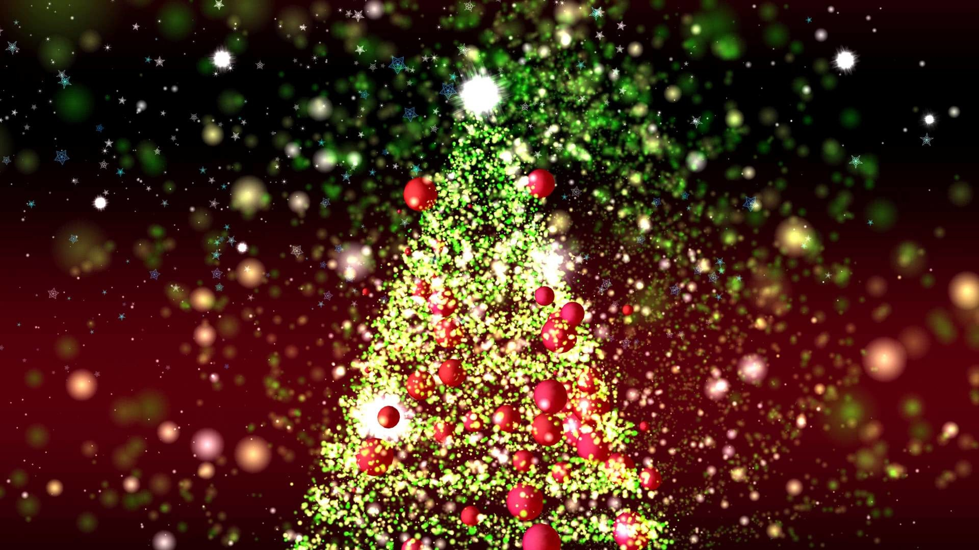 4K GREAT CHRISTMAS TREE ANIMATION ULTRA-HD PARTICLES BACKGROUND AA VFX –  YouTube