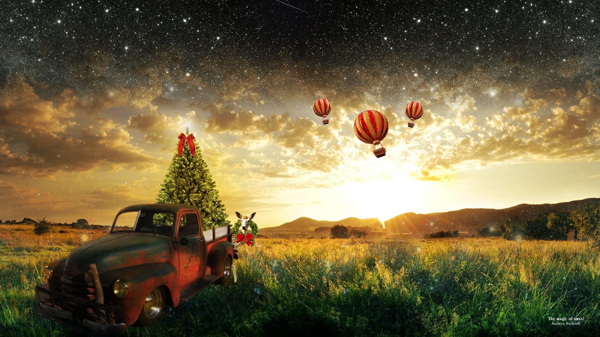 HD Wallpaper: The magic of Christmas