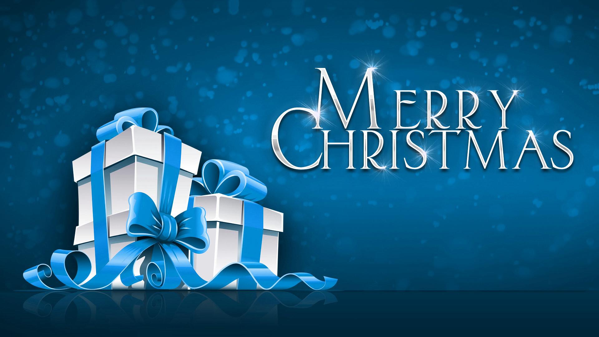 Merry Christmas Widescreen Desktop Wallpaper