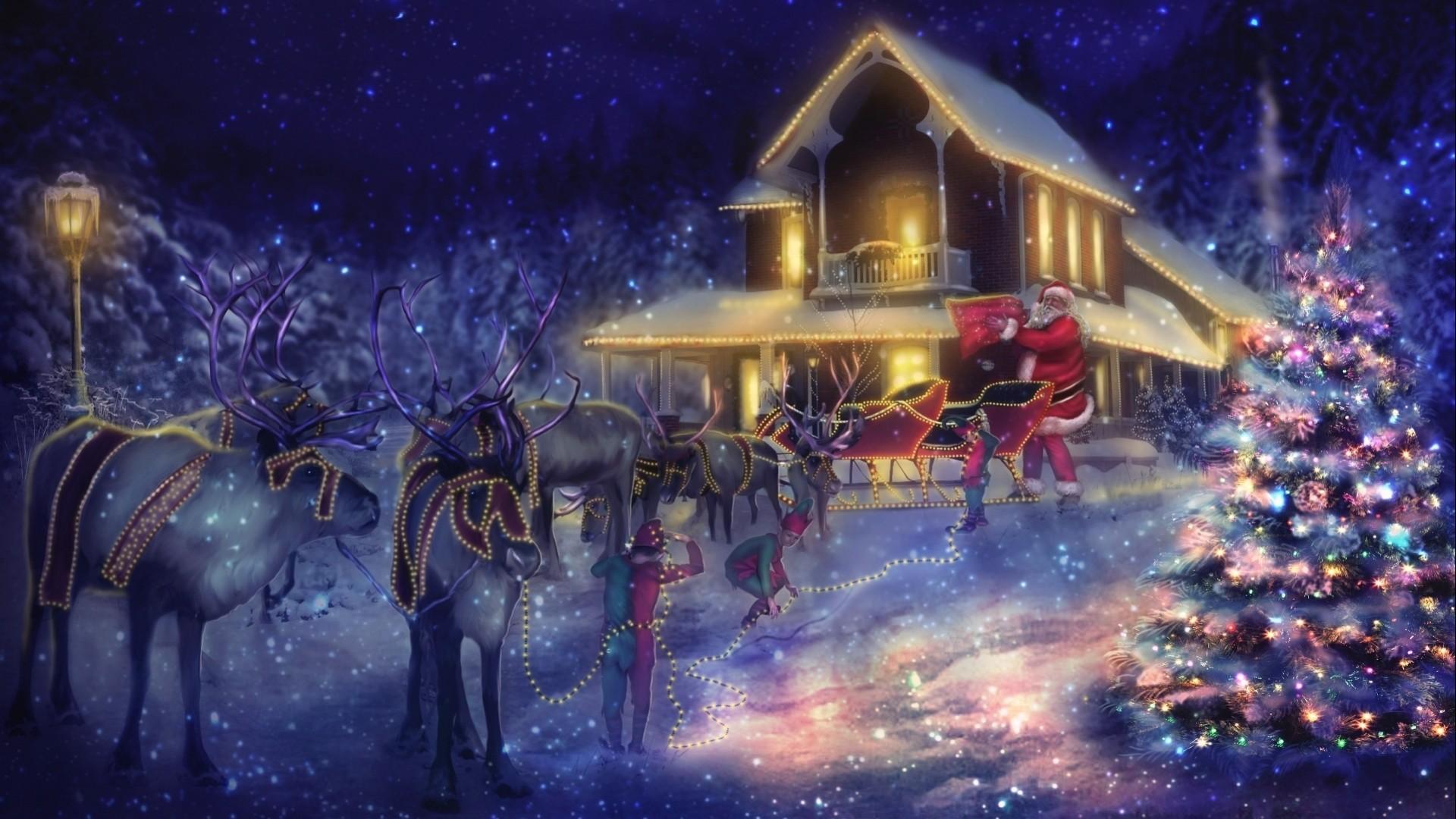 Christmas Desktop Themes Happy Holidays .