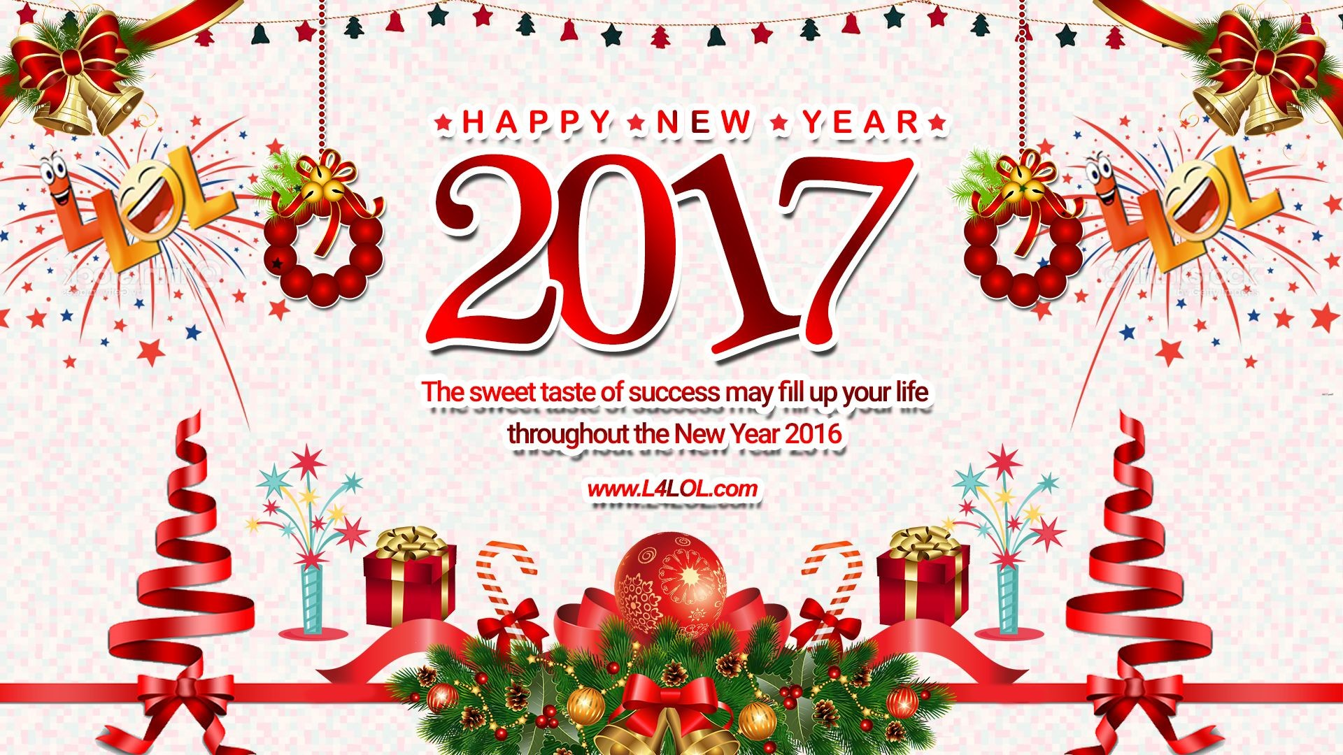 Merry Christmas And Happy New Year 2017 Wallpaper (04)