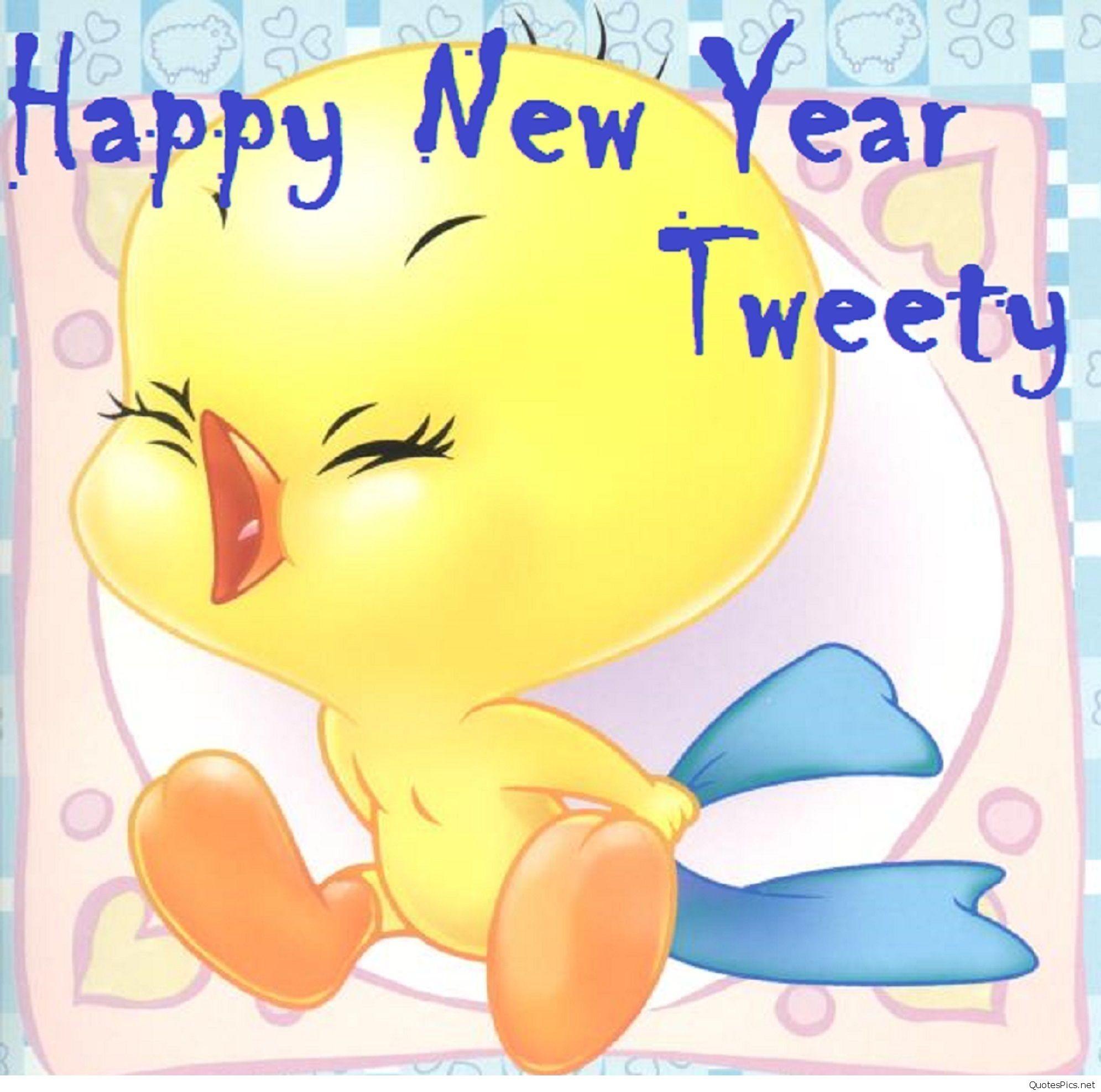 Tweety Happy New Year wallpaper 2017