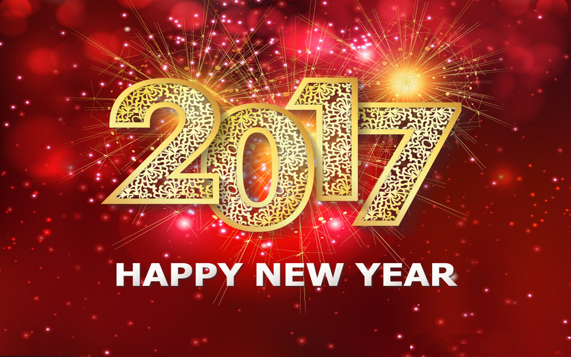 Holiday – New Year 2017 Holiday New Year Fireworks Happy New Year Wallpaper