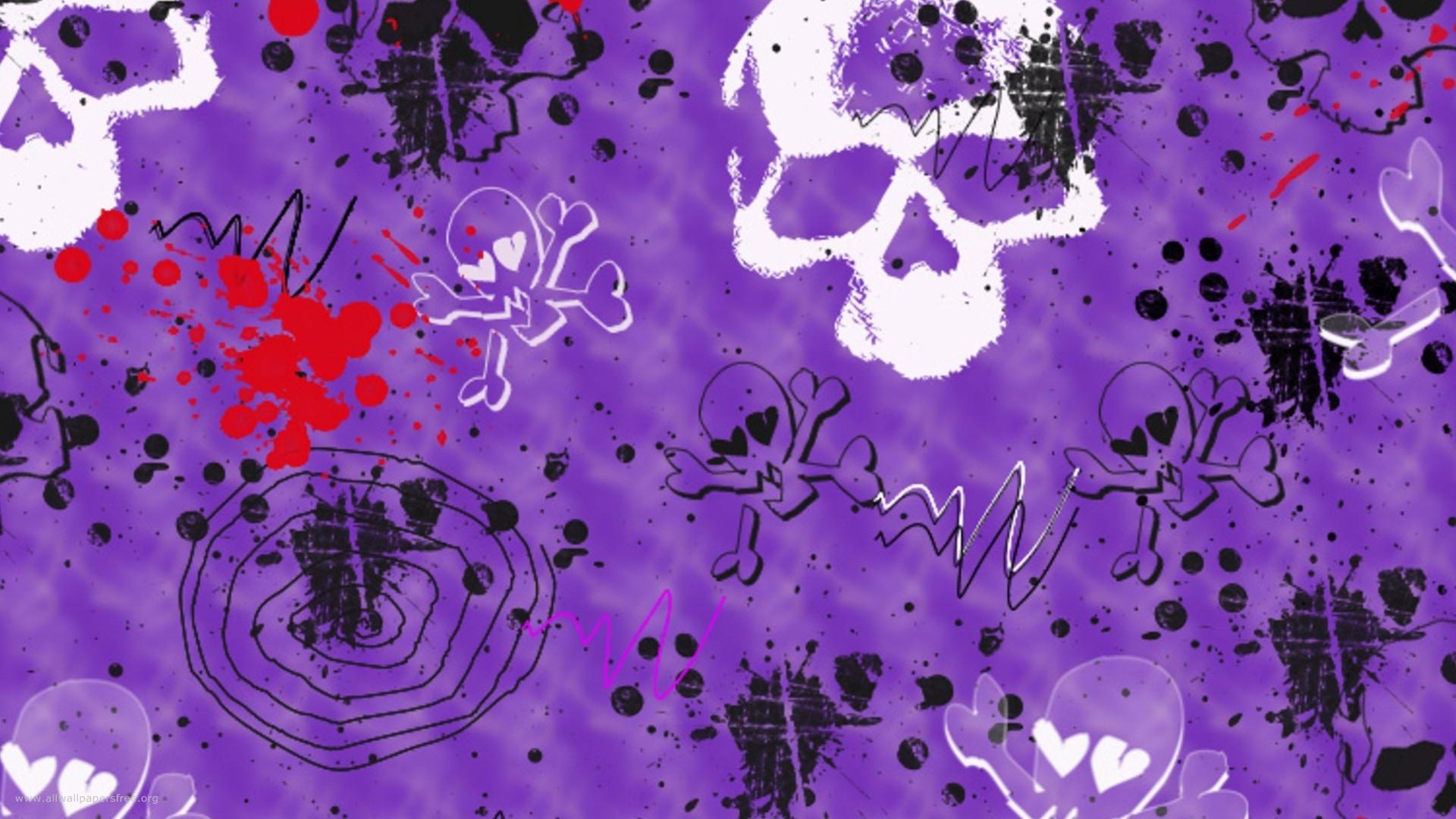 … Purple Halloween Wallpaper (15) …