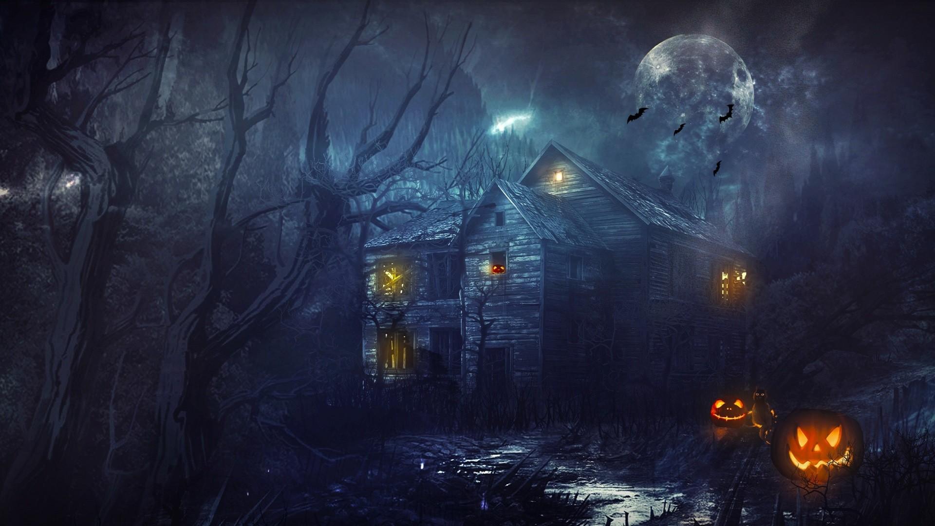 … Desktop Wallpaper Halloween (16) …