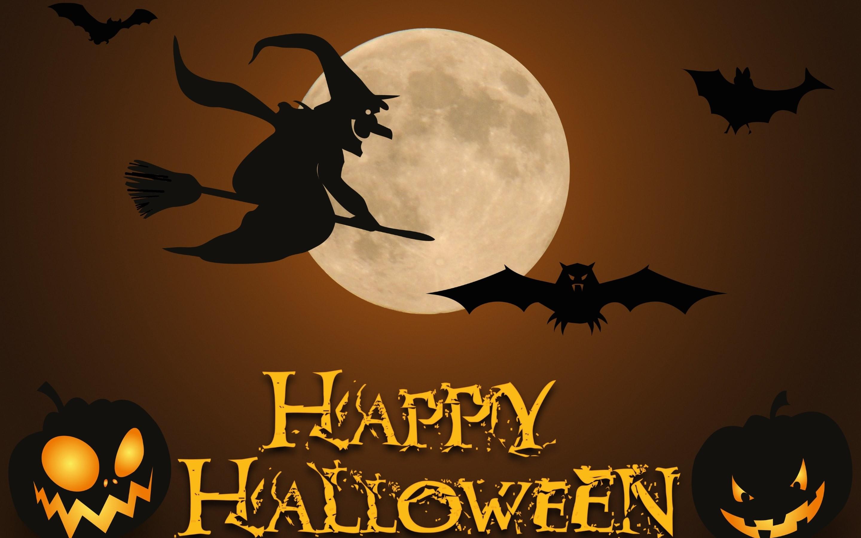 Halloween Witch Wallpaper WallDevil | HD Wallpapers | Pinterest .