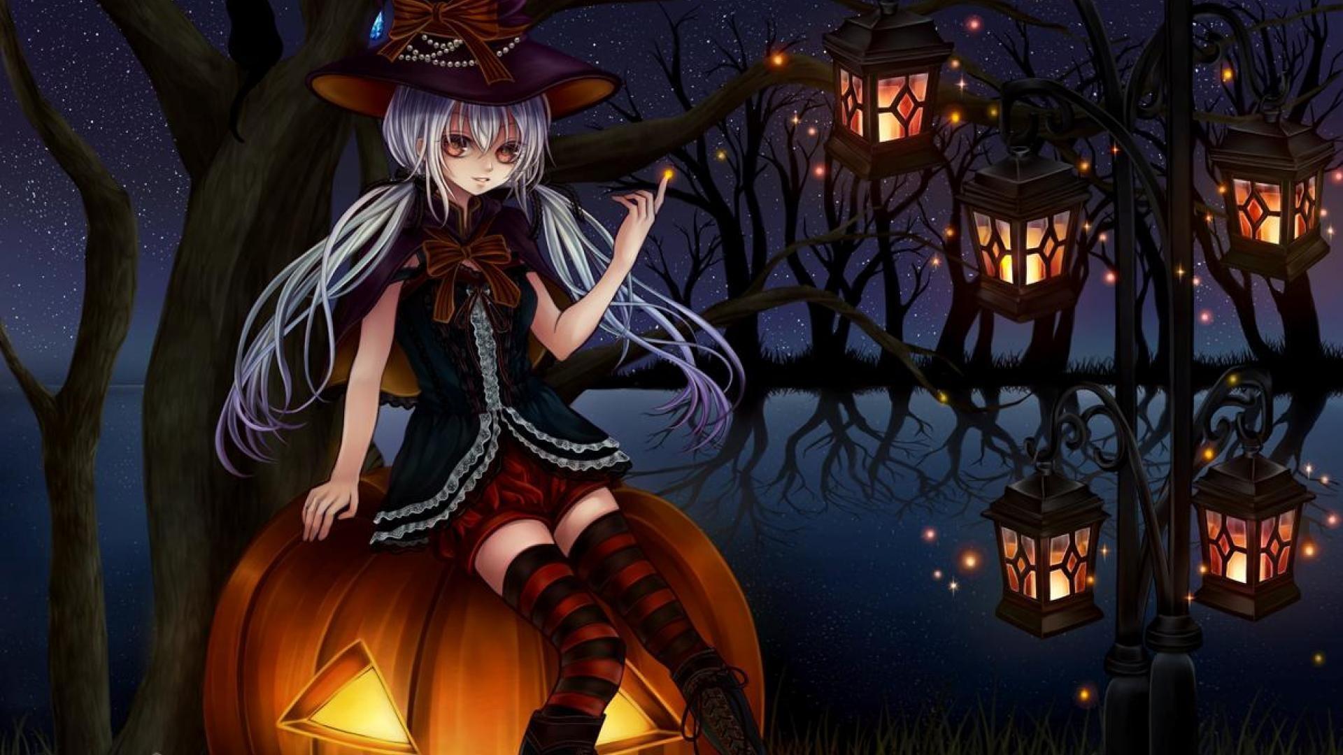 Back > Gallery For > anime halloween wallpaper