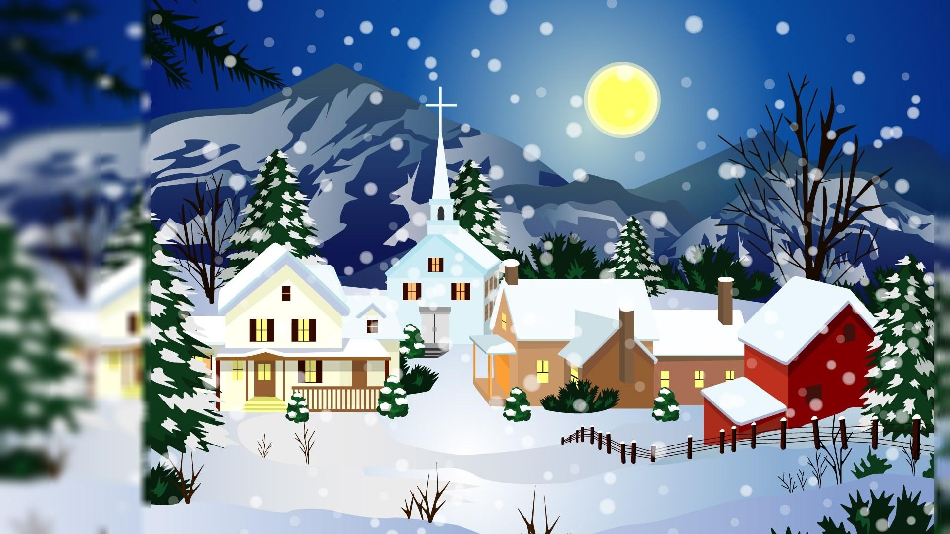 Animated Christmas Image. Free Newest Animated Christmas Wallpaper