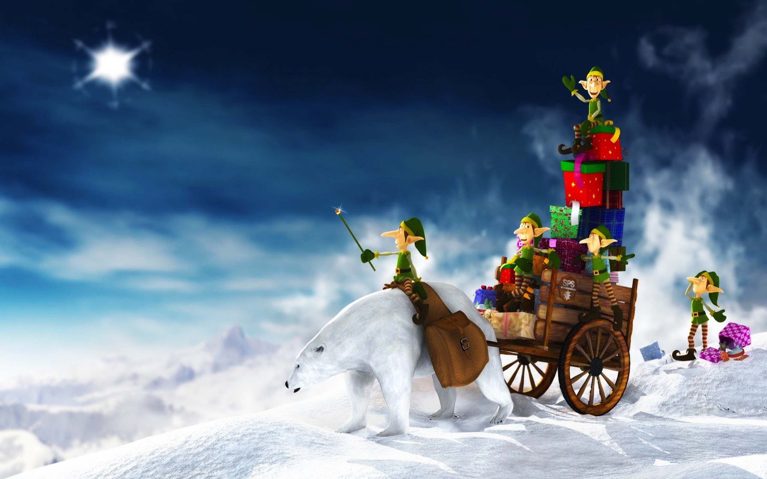 Free Christmas HD Wallpapers Download – Merry Christmas 3D Pictures
