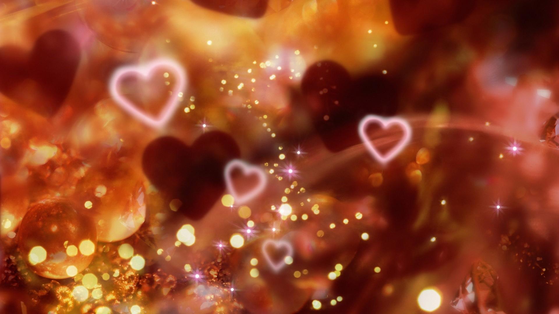 animated hearts christmas wallpapers