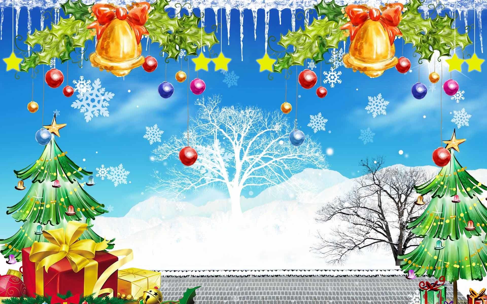 24 Animated Christmas Wallpapers