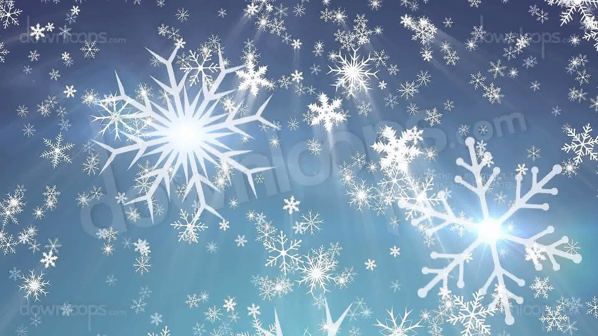 Snowy 1 – Snow / Christmas Video Loop / Animated Motion Background .