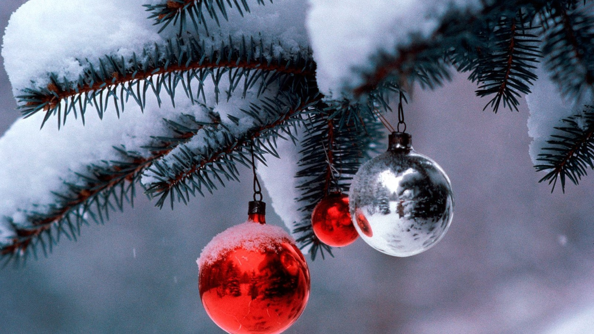 Christmas Tree Globe Decorations Desktop Wallpaper Uploaded by DesktopWalls