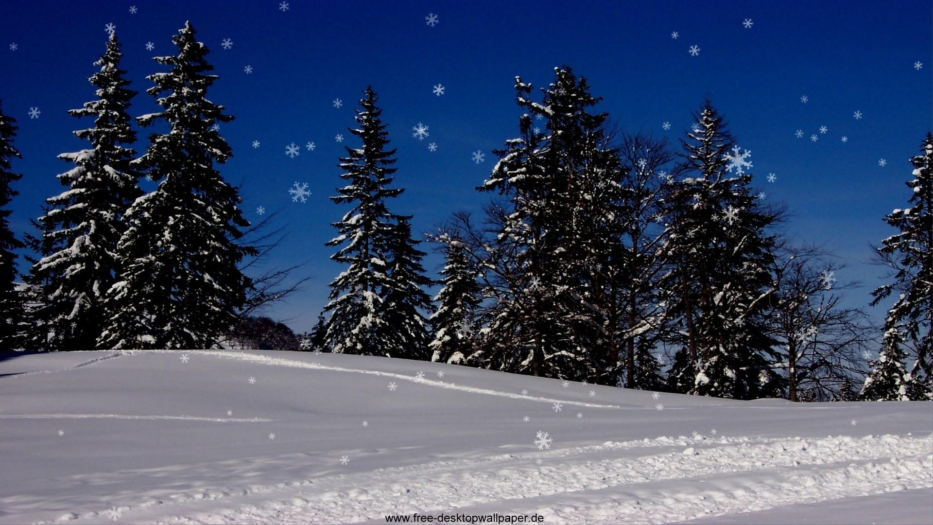 Free Snowy Christmas Desktop Wallpapers – www.wallpapers-in-hd.com