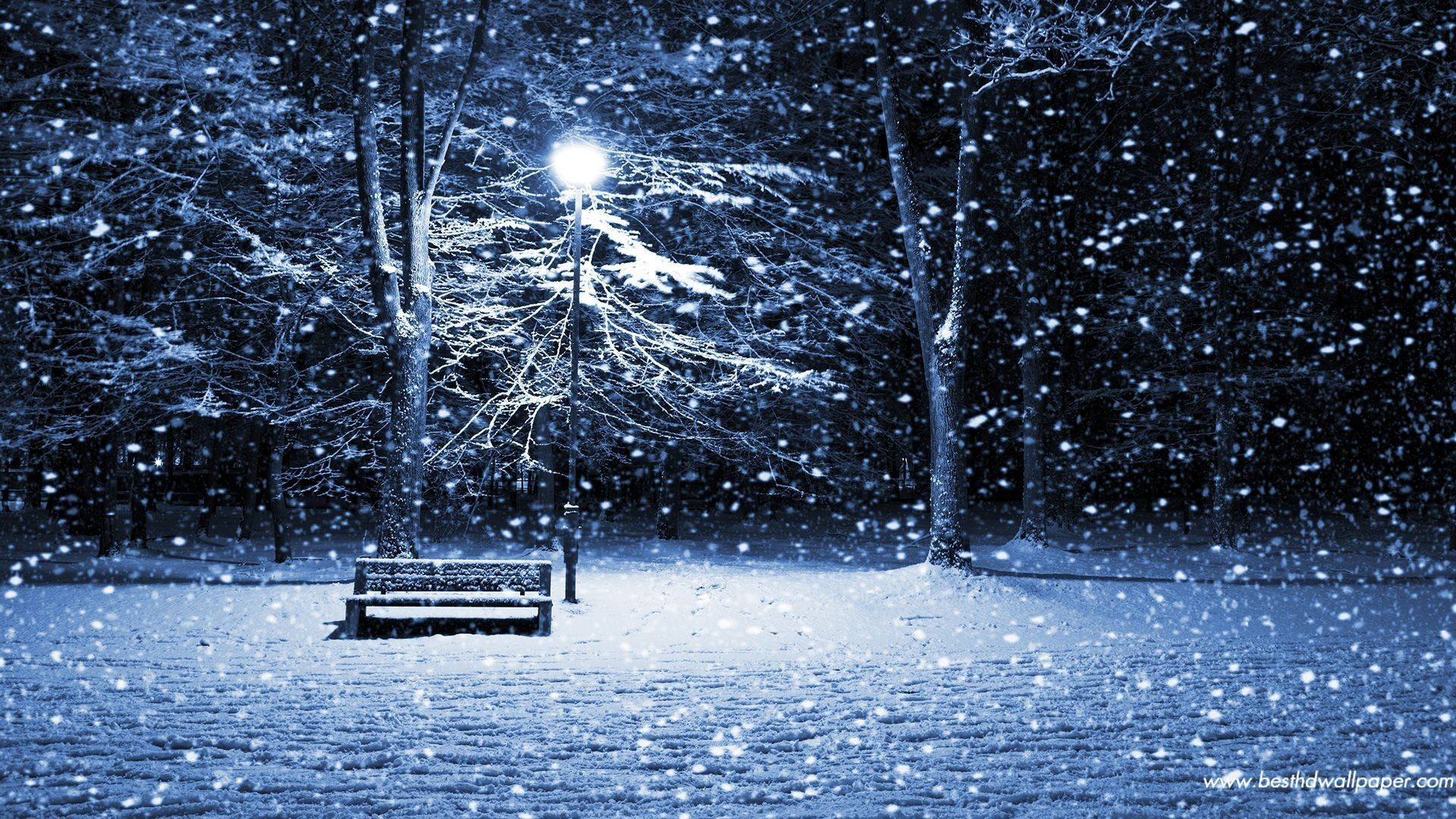 Christmas Snow Wallpapers For Iphone