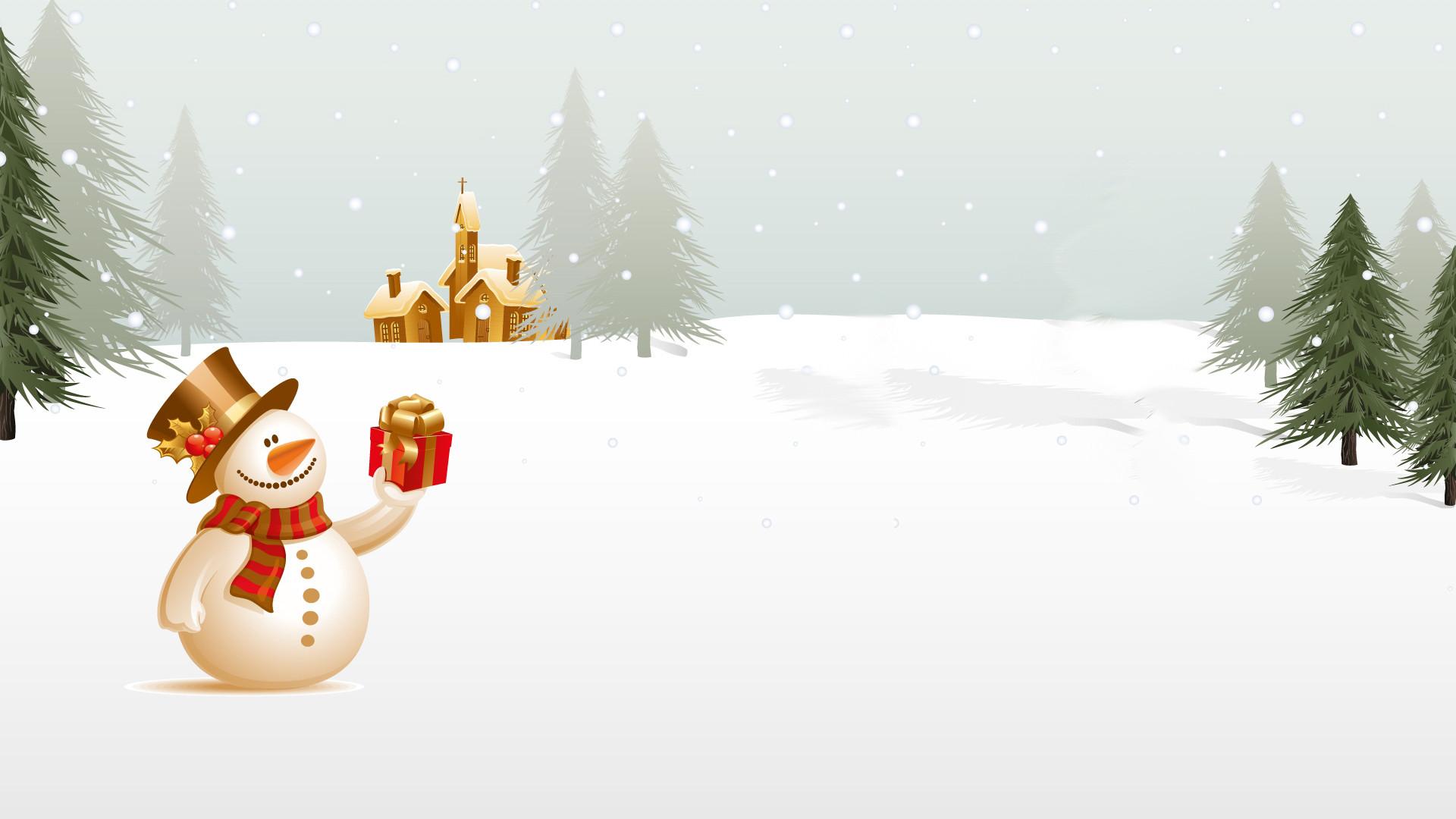 christmas-snowman-beautiful-image-hd-desktop-wallpapers-by-