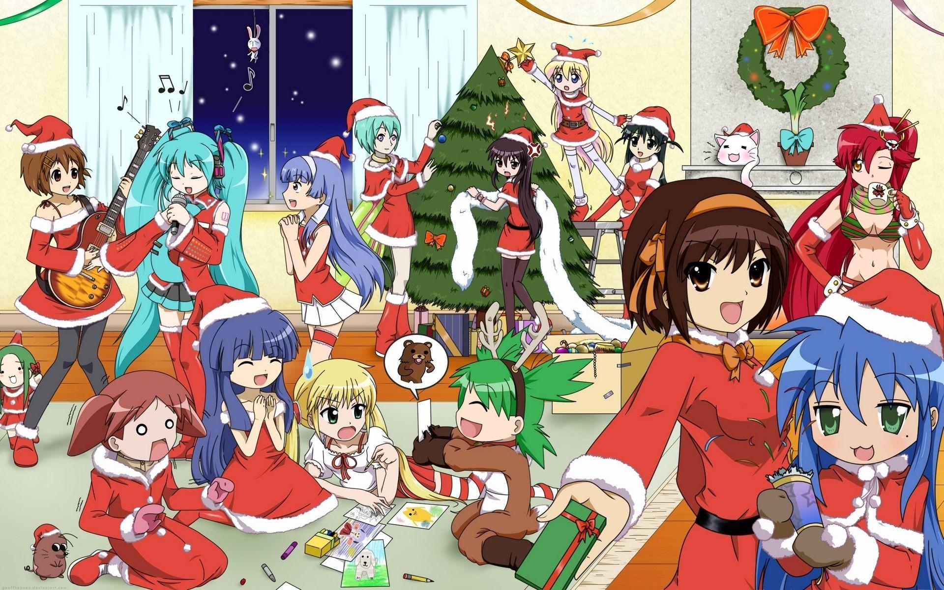 Anime · Anime Christmas Wallpapers HD.