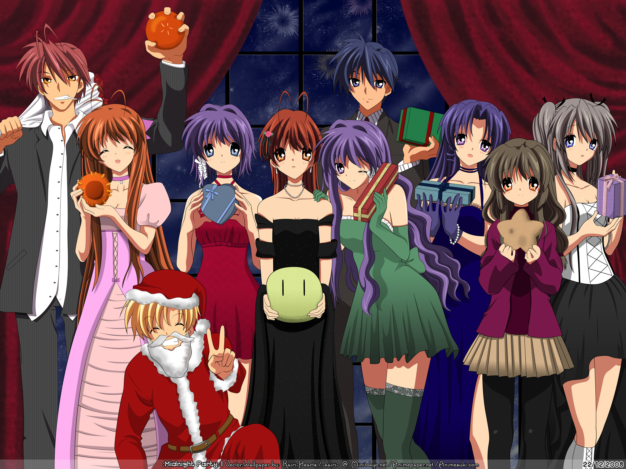 DestinyGirl images Clannad Christmas HD wallpaper and background photos