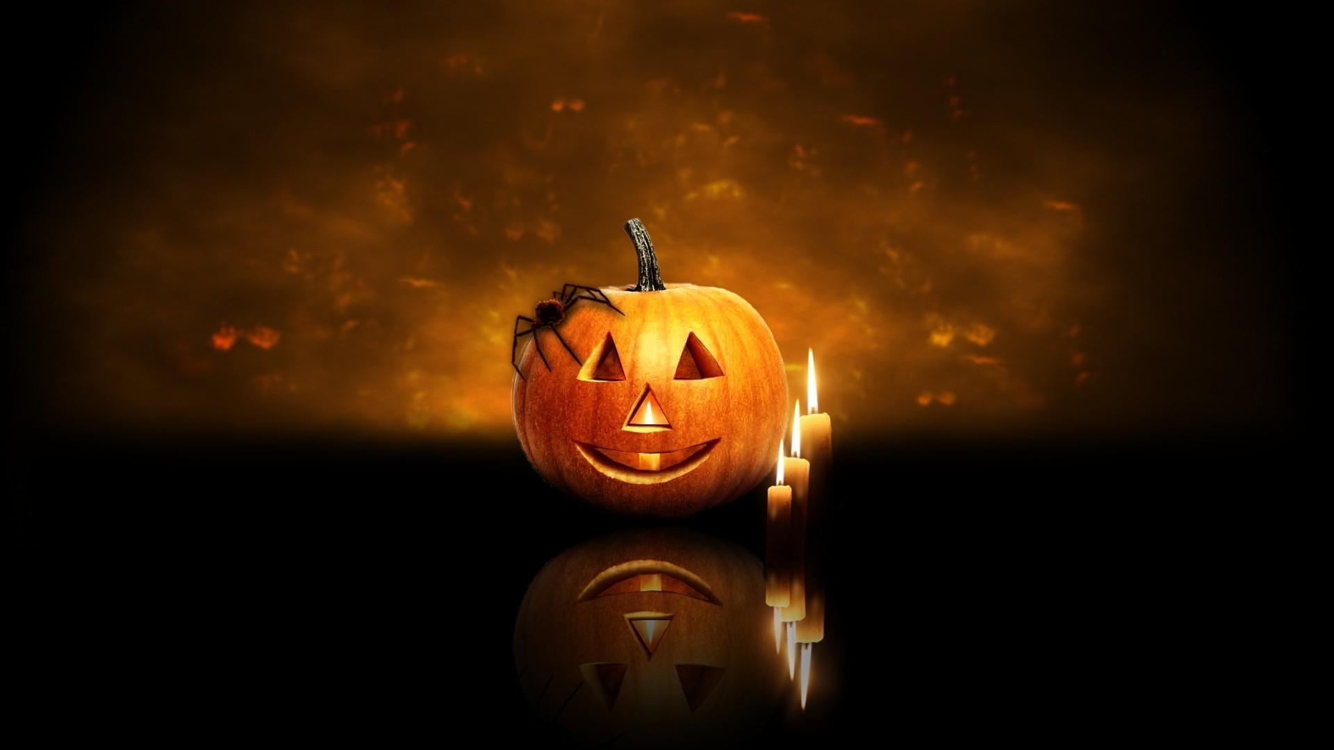Animated Halloween Wallpaper