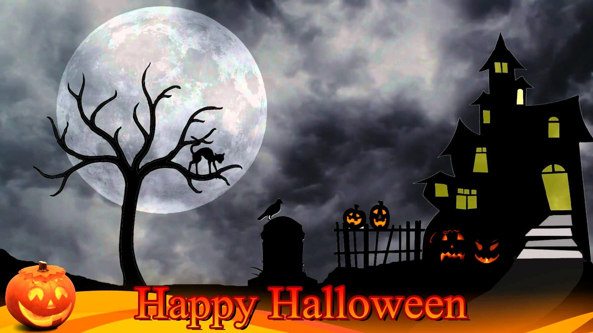 Halloween Background Video – Free motion background video 1080p HD stock  video footage – YouTube