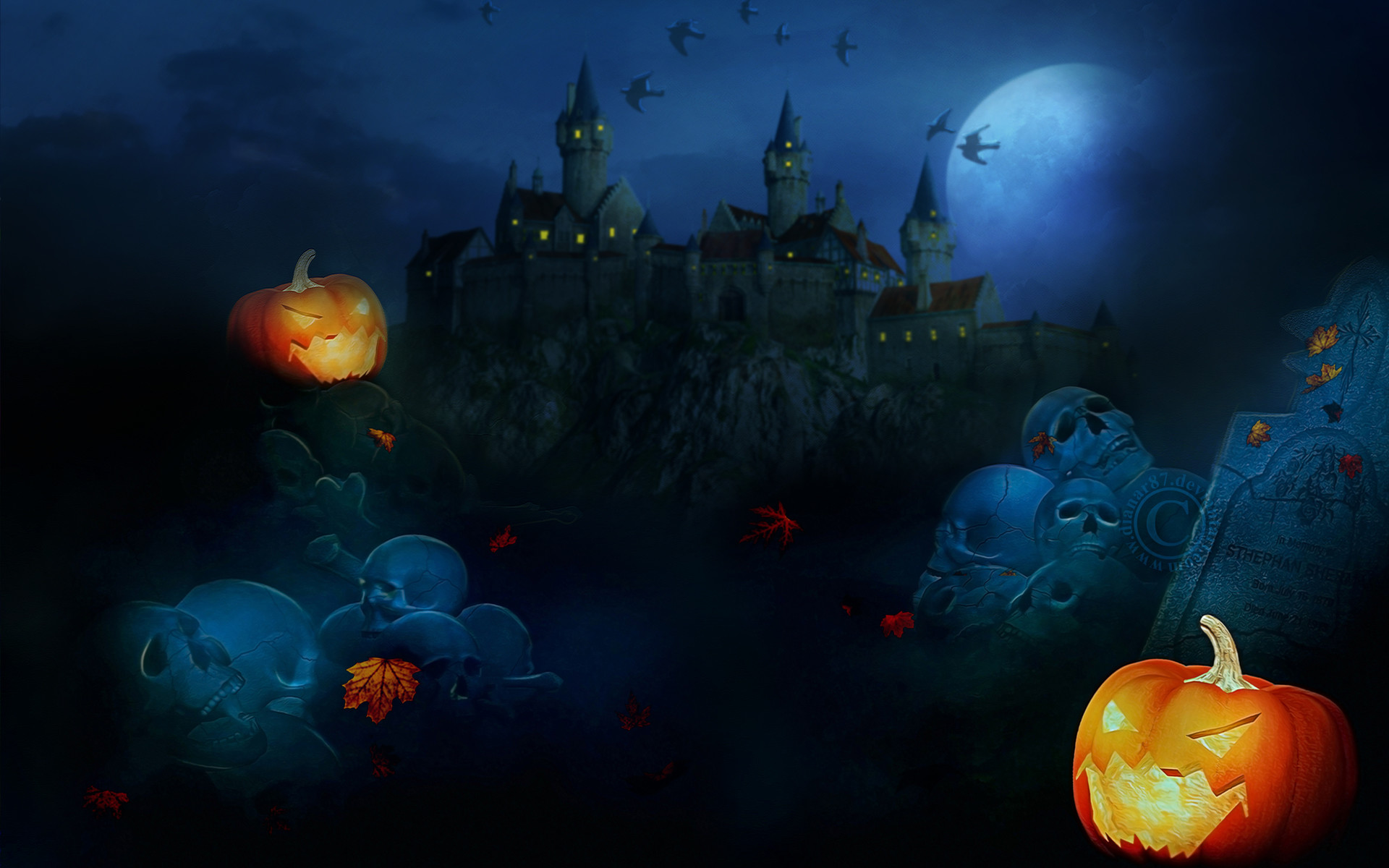 Related Pictures 3d halloween scary wallpaper wallpaper