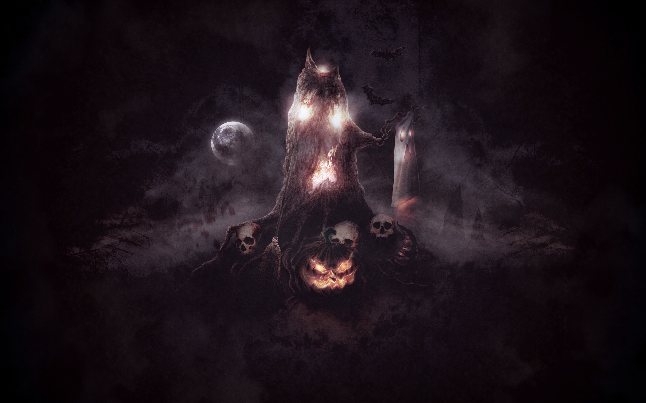 Awesome Scary Animated Halloween Wallpapers in High Quality, Yiannis  Commings
