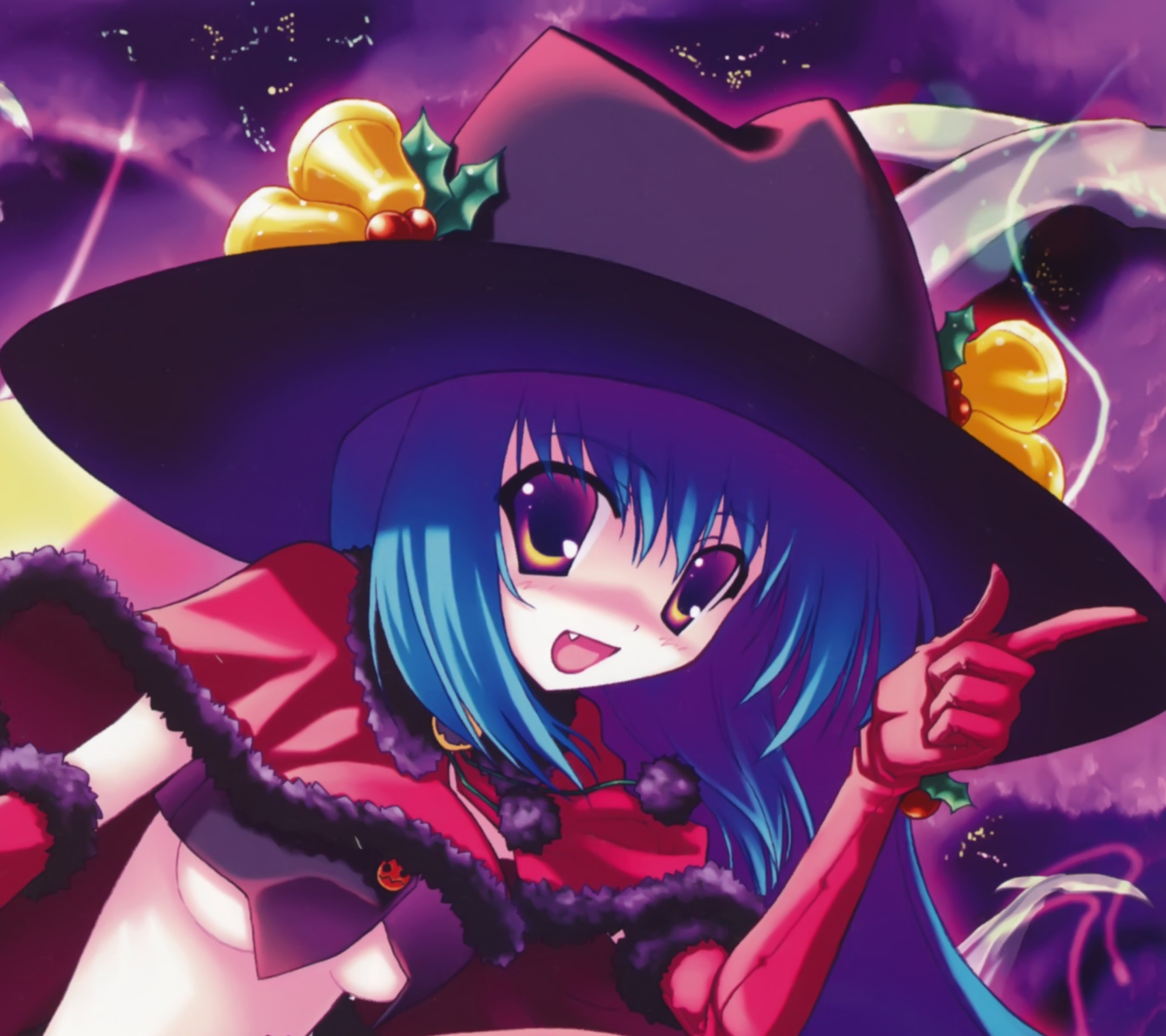 Anime Halloween 2013.Android wallpaper.(9)