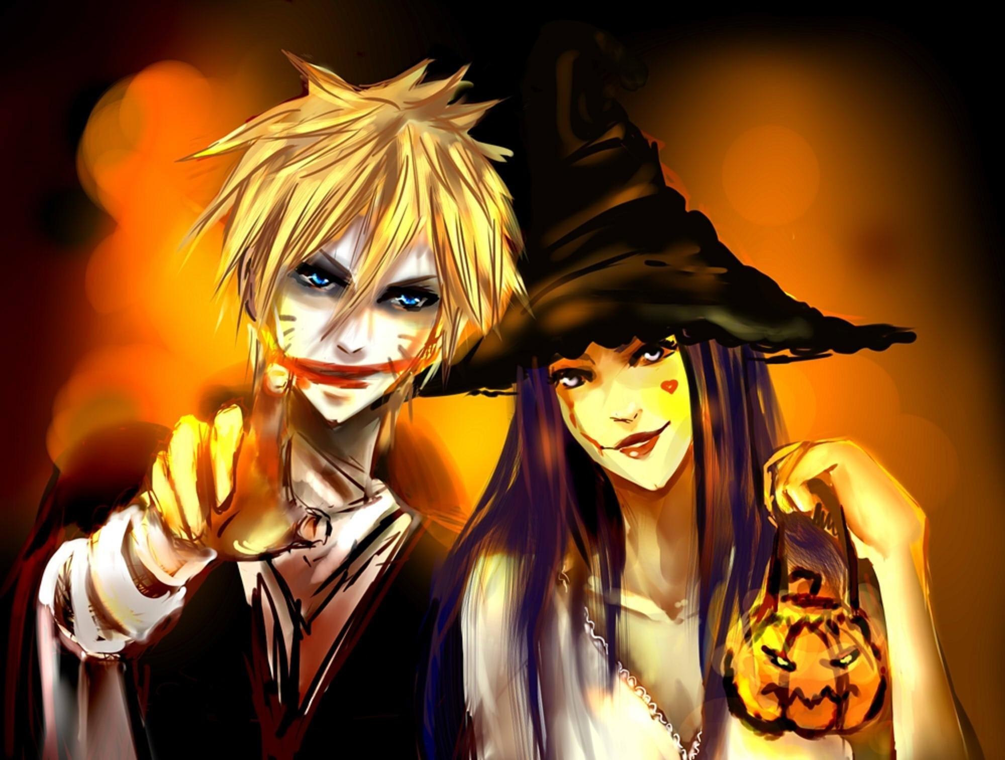 Anime · Happy Halloween HD wallpapers