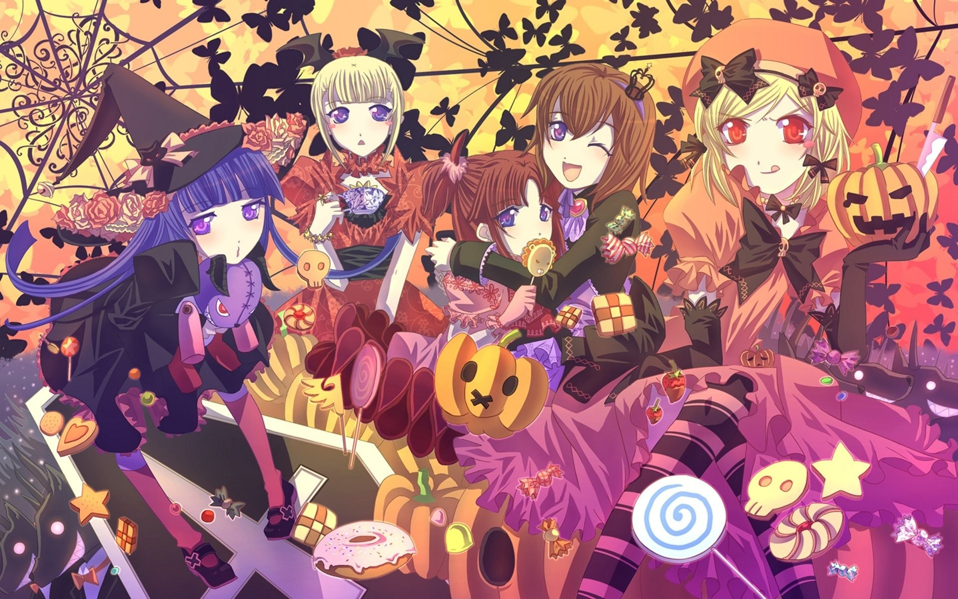 Anime Halloween 754686
