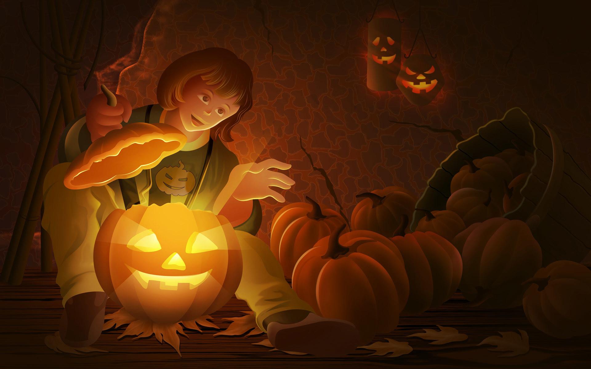 Cute Anime Halloween Wallpaper 21478wall.jpg