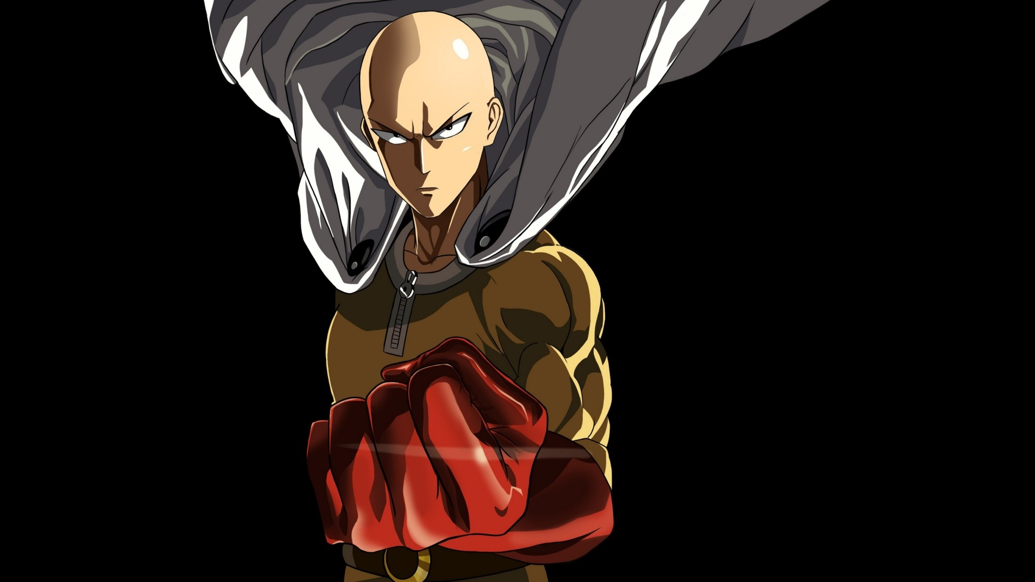 Download Saitama One Punch Man Marvelous Anime Halloween Wallpaper In Many  Resolutions