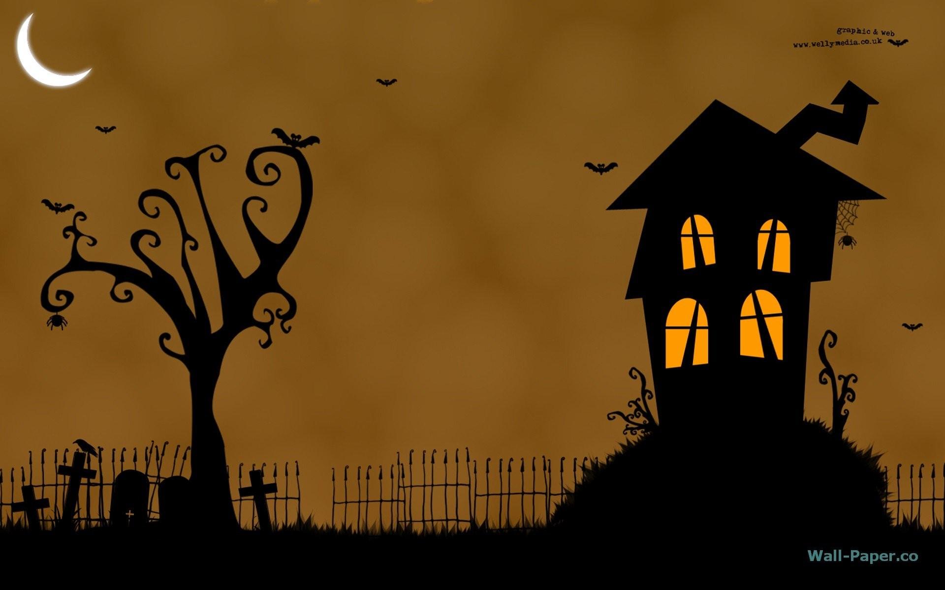 Free Halloween Animated Desktop Wallpaper 1920×1200
