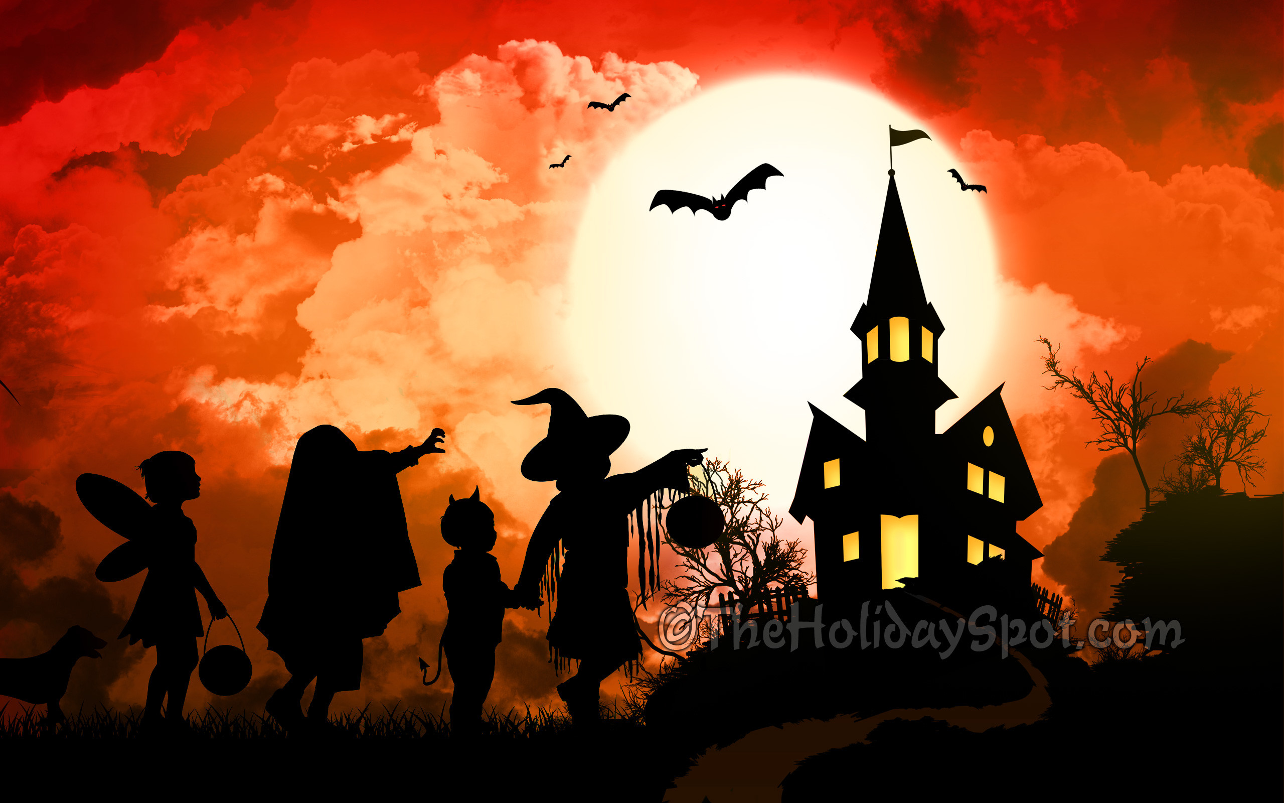 Halloween Wallpapers And Screensavers Wallpaper background.