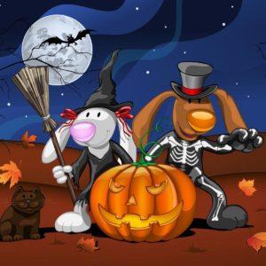 Halloween Animated Desktop