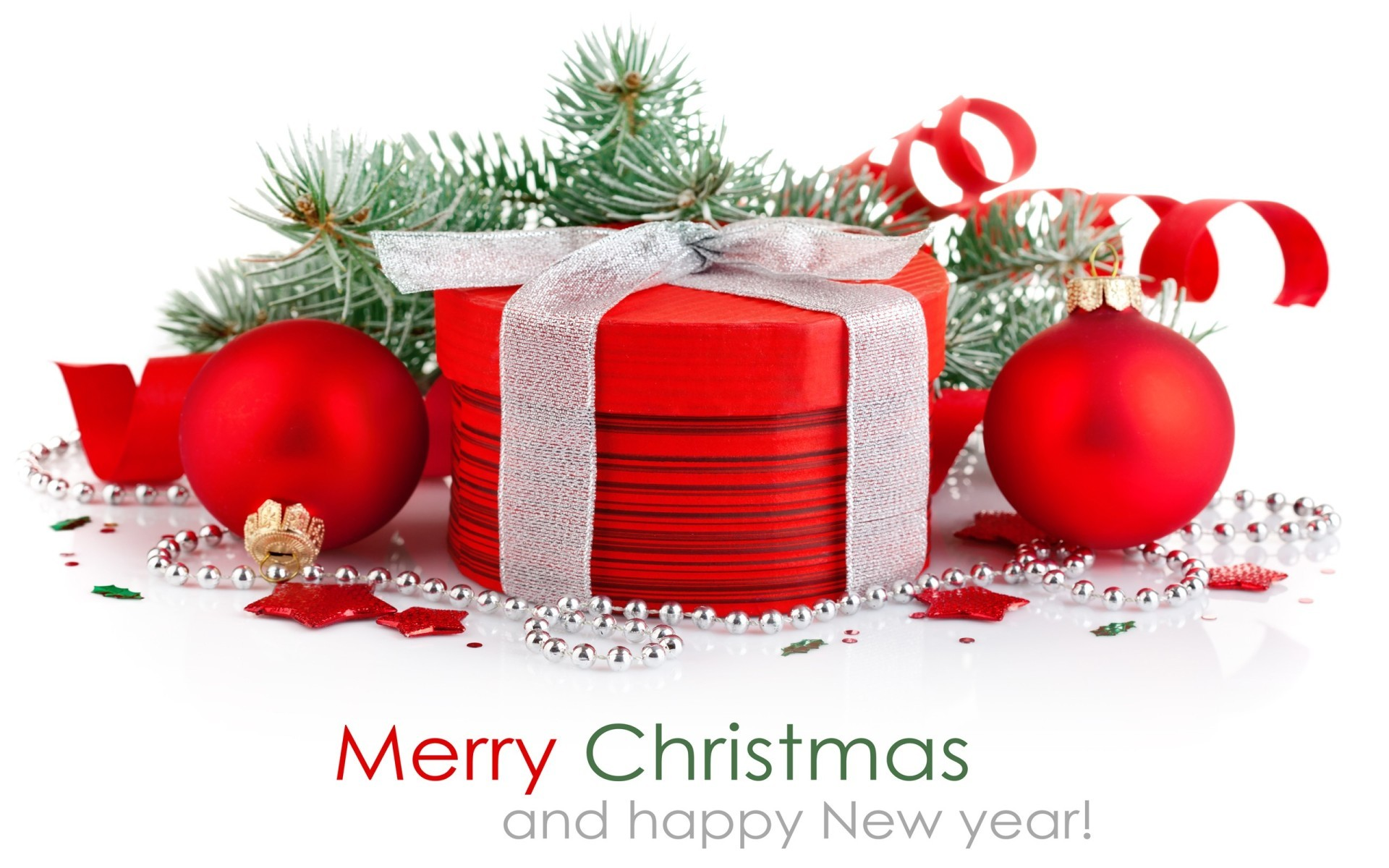 Happy New year & Merry Christmas Wallpapers 1920×1200