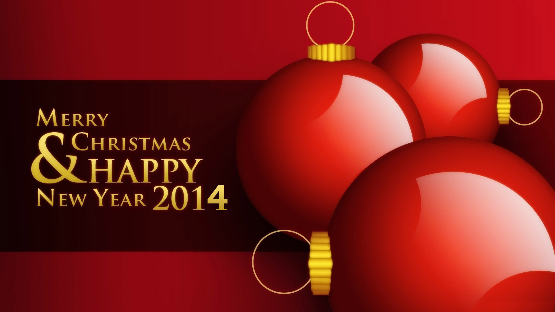Merry Christmas and Happy New Year 2014 Wallpapers