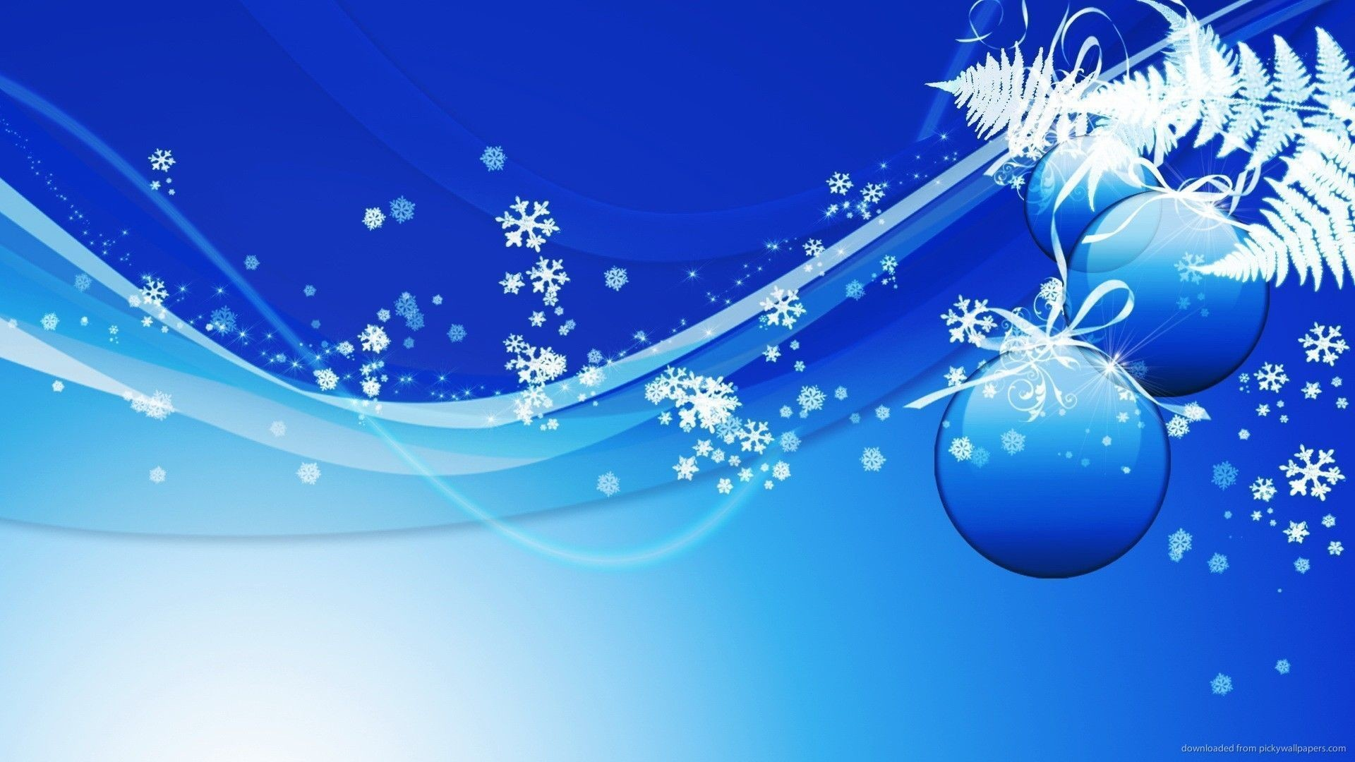 Download Blue Design Christmas Background Wallpaper