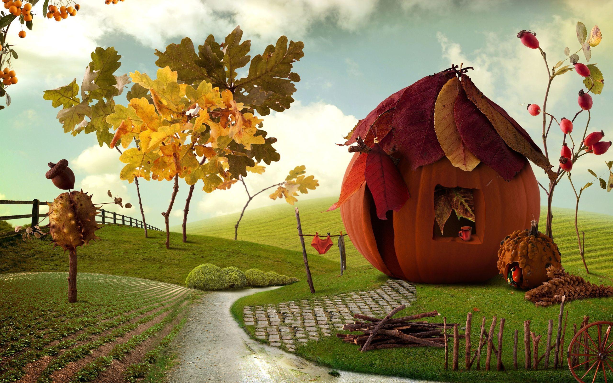 Holiday Thanksgiving Animation Wallpaper
